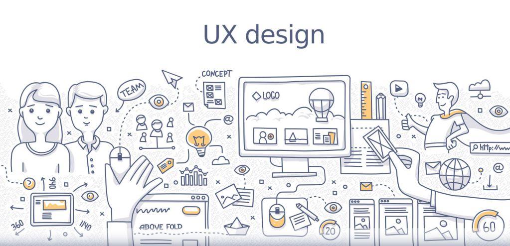 landing page : ux design