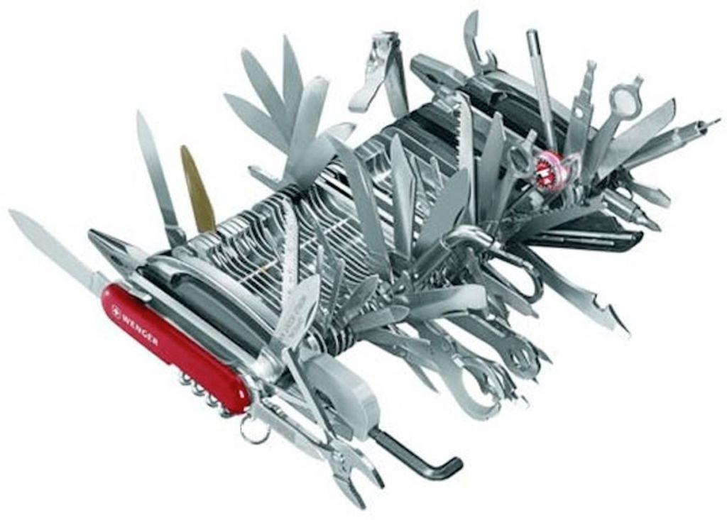 ux mobile : couteau suisse