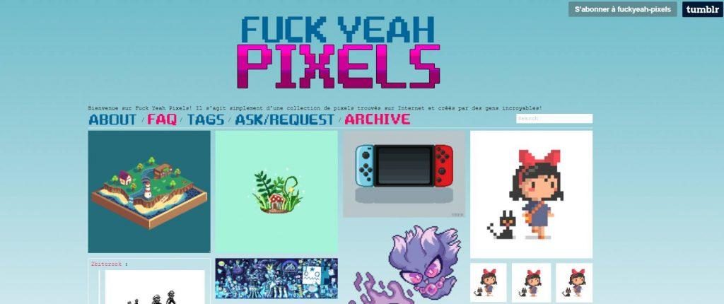 la place du pixel art dans l'UI design
