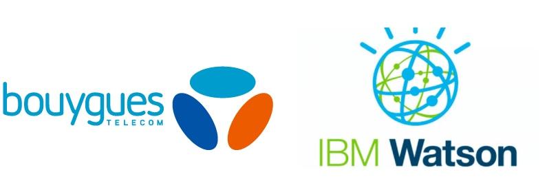 association d'IBM watson et Bouygues telecom pour la creation d'une IA