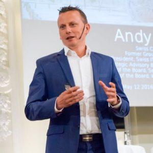 Andy Fitze, un conférencier en intelligence artificielle reconnu