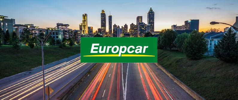 logo europcar avec la signification de l'intelligence artificielle avec les routes