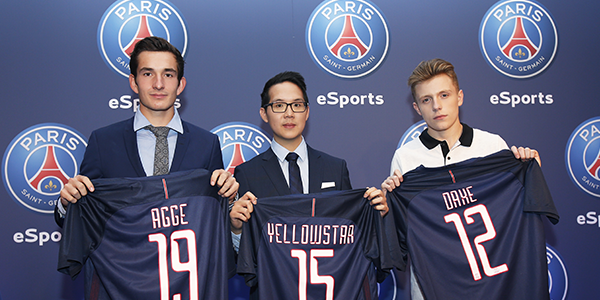 Marketing esport - PSG esport