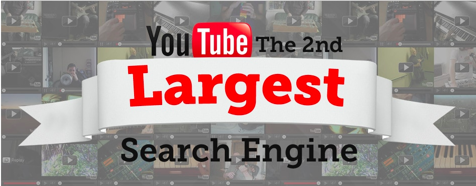 Youtube - 2ème moteur de recherche au monde