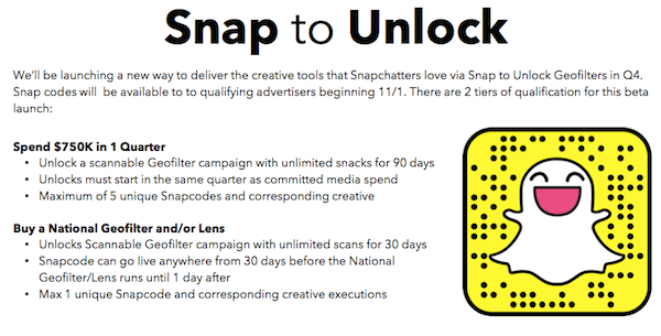 Snpachat Ads - Swipe to unlock