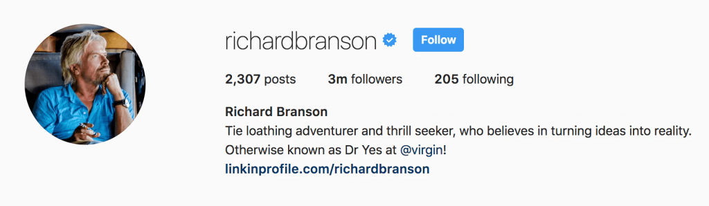 certification instagram bio instagram